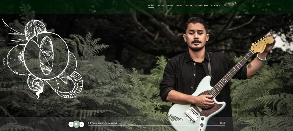 Oliver Han Music Front Page